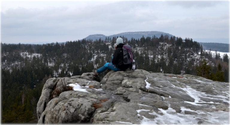 Narożnik i Białe Skały w Górach Stołowych