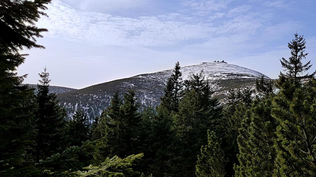 Śnieżka od czeskiej strony