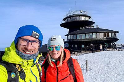 Śnieżka i obserwatorium meteorologiczne