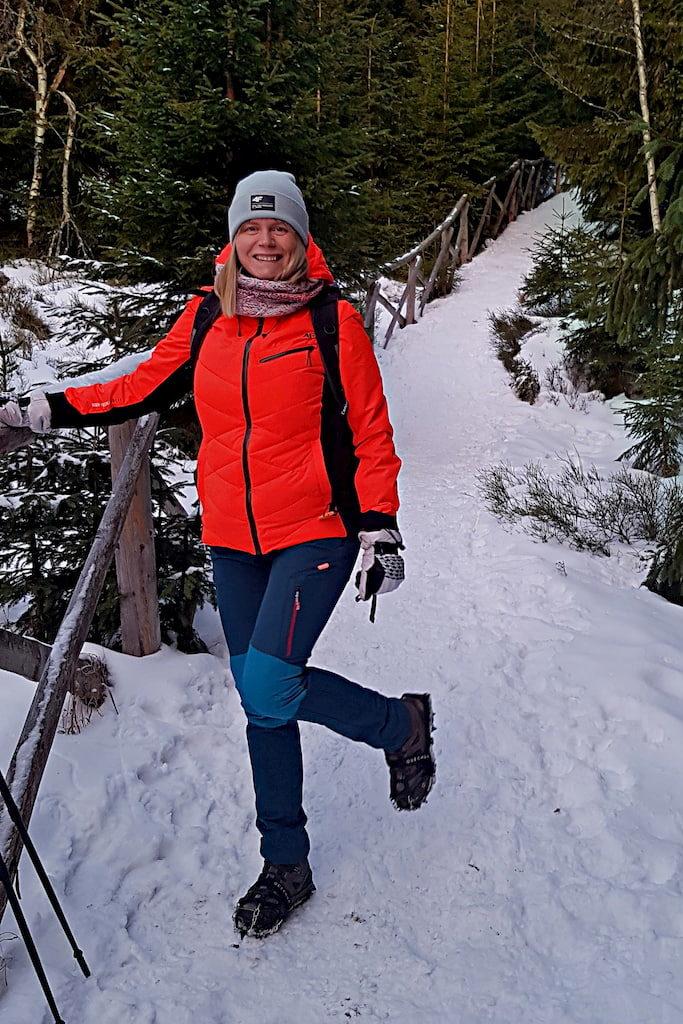 początek szlaku na śnieżkę