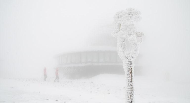 Śnieżka – zimowe wejście na królową Karkonoszy
