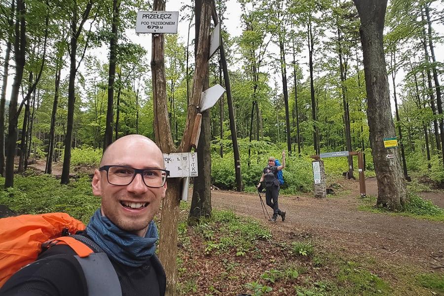 GSS dzień 5. Trasa: Złty Stok - Lądek-Zdrój. Przełęcz pod Trzeboniem