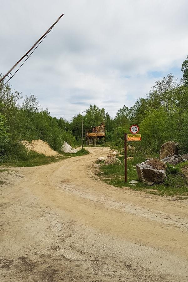 Kopalnia marmuru w Sławniowicach