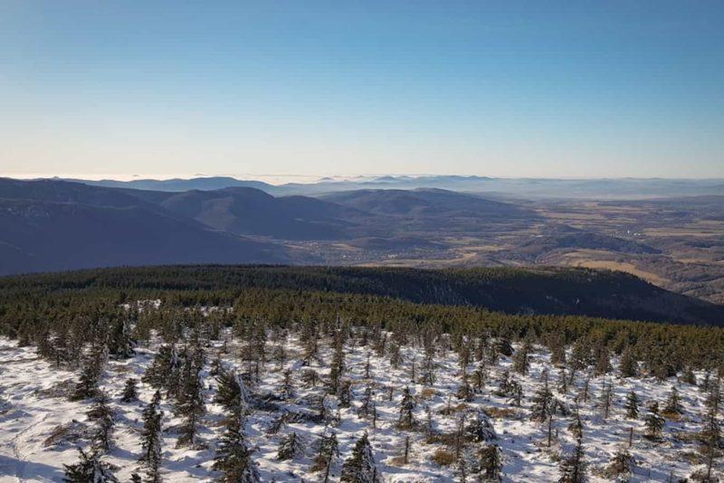 Smrk – szukamy zimy w Górach Izerskich