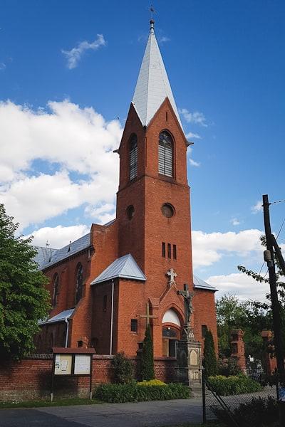 Trzeboszowice Kościół