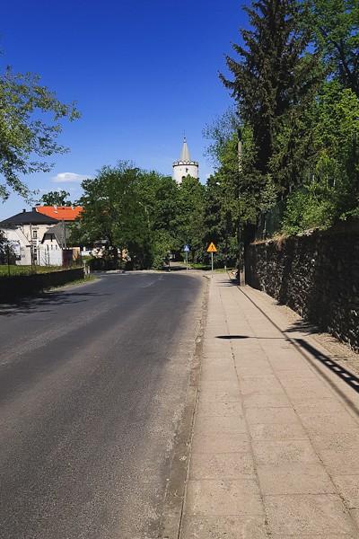 Ulica w Paczkowie