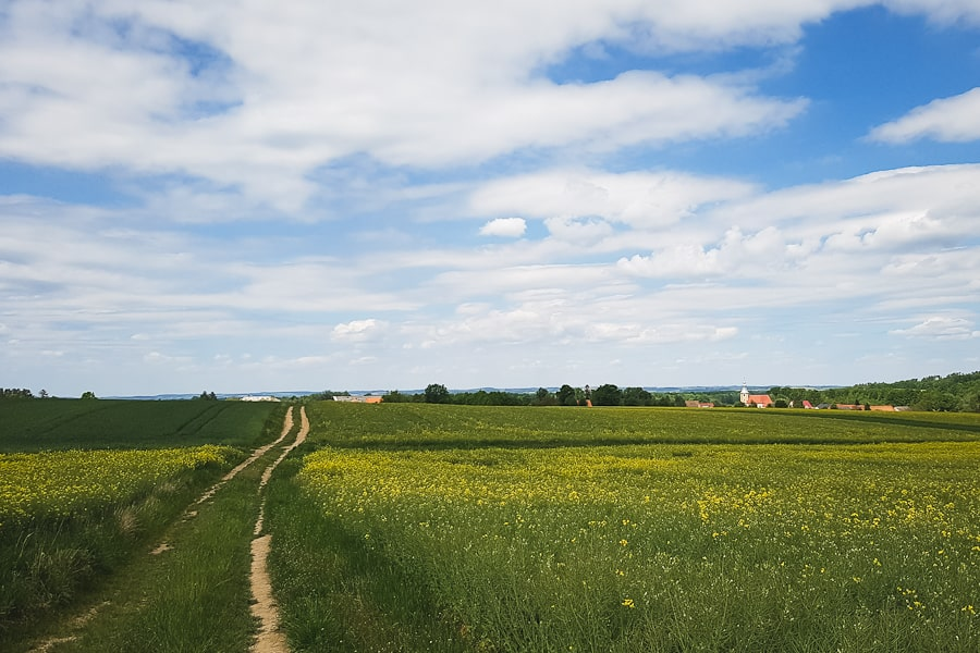 Widok na Łąkę