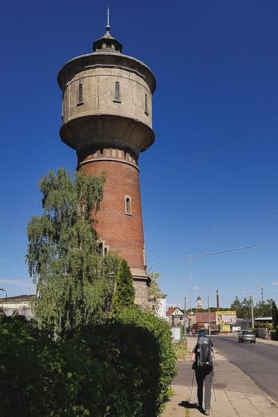 Wieża ciśnień w Paczkowie