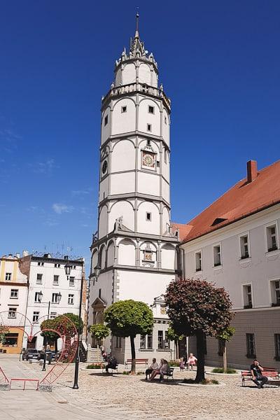 Wieża Ratusza w Paczkowie
