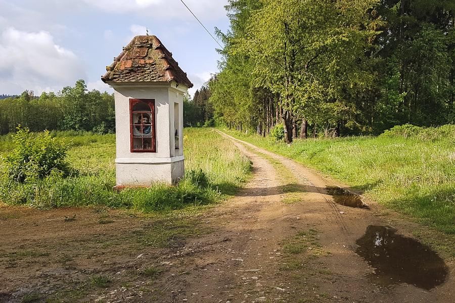 GSS dzień 6. Kapliczka za Lądkiem-Zdrój