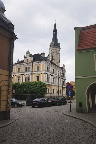 Gss dzień 6. Trasa Lądek-Zdrój - Międzygórze. Rynek w Lądku-Zdroju