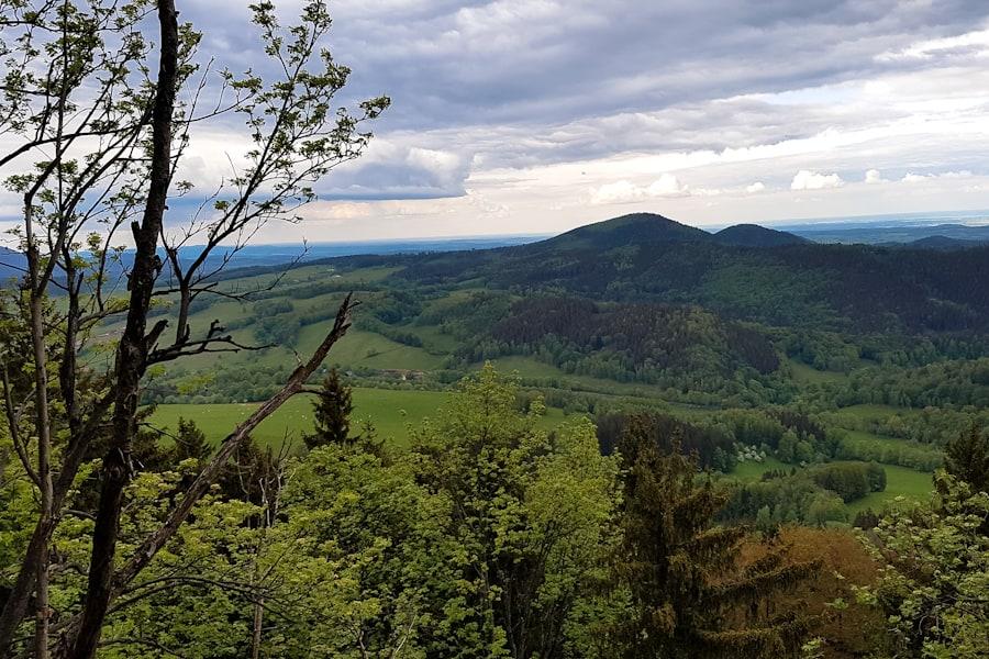 widok na gory kamienne