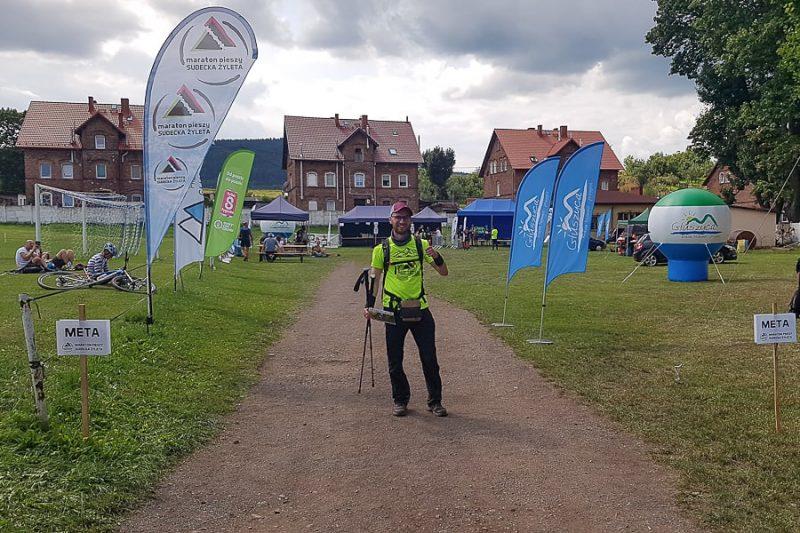 Sudecka Żyleta — relacja z przejścia górskiego maratonu pieszego.